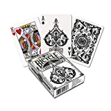 Fournier Bicycle Archangels Baraja de Poker para coleccionistas Premium, Adultos Unisex, Blanco