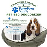 Furry Paws Supply Pet Bed Deodorizer, Eliminates Pet Odors, Fits All Pet Beds, No Need for Sprays 100% Recyclable by Furry Paws Supply