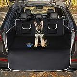 Toozey Kofferraumschutz Hund mit Seitenschutz - Universal Auto Kofferraum Hundedecke - Robuste Schutzmatte für Hunde, Schwarz