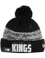 New Era équipe de Word LA Kings Bobble Knit Beanie Hat