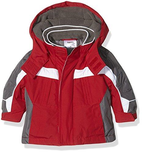 Twins Unisex Baby Jacke, Rot (Rot 105), 62 Baby Winter Jacke