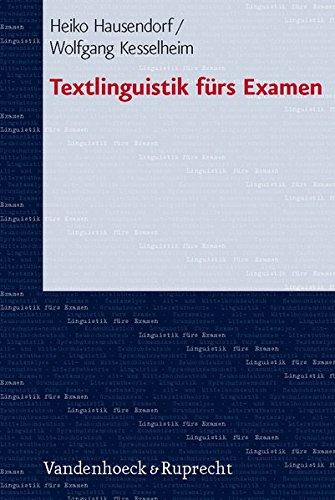 Textlinguistik fürs Examen