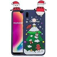 Yobby Weihnachten Motiv Handyhülle für Huawei P20 Lite,Huawei P20 Lite Hülle, 3D Cartoon Karikatur Süß Muster... preisvergleich bei billige-tabletten.eu