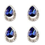10 Pezzi di 3D Diamante Gioielli Punte Strass Decorazione Accessori per Nail Art Fai Da Te Manicure Strumento - #2