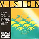 Thomastik Vision titanium solo vit-01 Acero-titanium 1ª-medium-violín 4/4