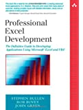Professional Excel Development, w. CD-ROM: The Definitive Guide to Developing Applications Using Microsoft Excel and VBA (Addison-Wesley Microsoft Technology)