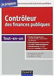 Contrôleur des finances publiques - Concours externe et interne - Tout-en-un