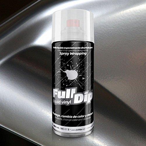 FullDip FLD800 Vinilo Líquido, Cromado Plata, 400 ml
