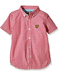 Lyle & Scott Gingham - camisa Niñas