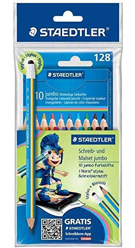 Staedtler 61 SET28 - Schreib- und Malset jumbo Mars mit Noris stylus Schreiblernstift