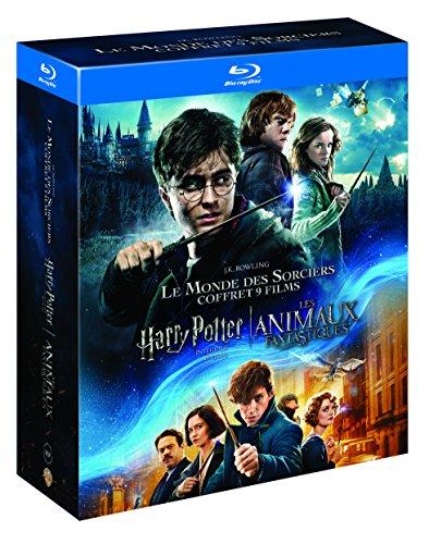 Preisvergleich Produktbild Coffret j. k. rowling 9 films : harry potter 1 à 7 ; les animaux fantastiques [Blu-ray] [FR Import]