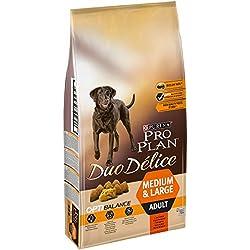 PRO PLAN DUO DELICE - Riche en Bœuf - 10 KG - Croquettes pour chien adulte