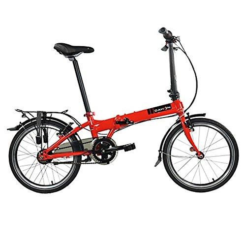 Dahon Faltrad VITESSE i7 7 Gang Cherry Rot 20 Zoll Klapp Fahrrad Faltrahmen Fahrkomfort Shimano Nexus, 942102