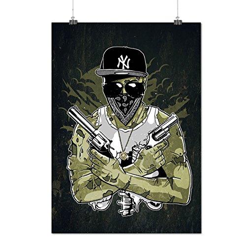 Gewehr Mafia NY Gangster Mattes/Glänzende Plakat A3 (42cm x 30cm) | Wellcoda (Gangsta Paar Kostüm)