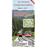 Bergbahnregion: Rad- und Wanderkarte