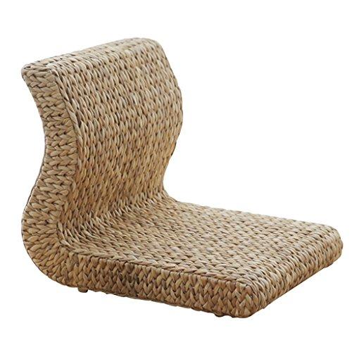 Kissen für Tee-Haus Legless Schemel für Wohnzimmerstuhl für Schlafzimmersessel Faule Stuhl Wicker-Stuhlsessel dauerhaft kann 300KG tragen -