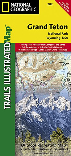*Grd Teton National Park* (Trails Illustrated Maps)