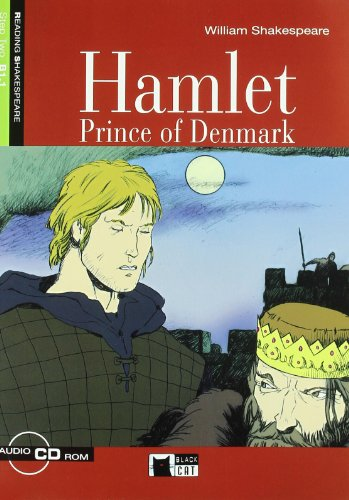 Hamlet prince of denmark+cd - rom (rs b11) (black cat reading and training)