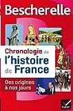 Chronologie de l'histoire de France : Des origines à nos jours by Guillaume Bourel (2013-08-28)