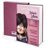 Tagebuch Notizbuch für Kinder von Eltern geschrieben: MÄDCHEN - Geschichten aus Deinem Leben rosa pink - Geschenk Geburt Weihnachten Schwangerschaft DIN A4 leeres Buch zum Selberschreiben