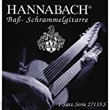 Hannabach 27107B Guitarra Schrammel (Nylon), Bordun Set 7-string