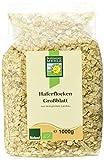 Bohlsener Mühle Haferflocken Großblatt, 4er Pack (4 x 1 kg) - Bio