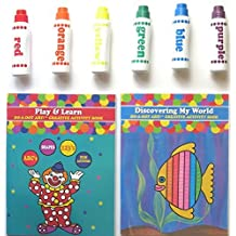 Do A Dot Art Markers Rainbow 6-Pack and Activity Book Set by Do-A-Dot