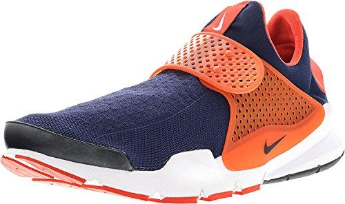 Sneaker Sneakers Calzino Dart Knit Jacquard Blu Blu