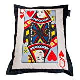ICON Designer Playing Cards Bean Bag - Queen of Hearts Giant Bean Bags