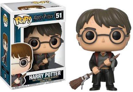 Harry Potter Minifigure avec Firebolt Funko Pop Vinyle Elbenwald exclusivement 9cm