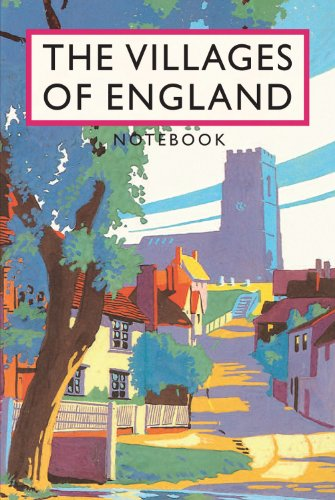 Brian Cook: The Villages of England Notebook Cover Image