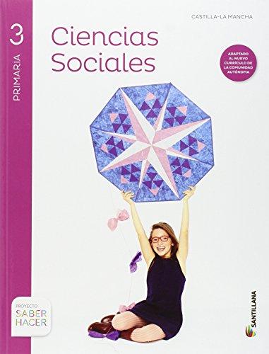 CIENCIAS SOCIALES + ATLAS 3 PRIMARIA CASTILLA LA MANCHA - 9788468031842 por Aa.Vv.