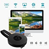 WiFi Display Dongle, Mbuynow WiFi Wireless 1080P Mini Display Receptor HDMI Miracast DLNA Airplay Adaptador Dongle de TV para iPhone iPad Samsung Android Phones Tablets