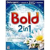 Bold 2en 1Bio Lessive en poudre Lys Blanc 40lavages 2.6kg