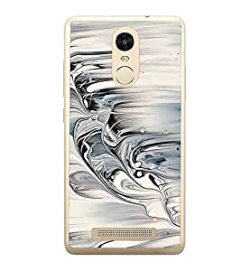 Fiobs Designer Back Case Cover for Xiaomi Redmi Note 3 :: Xiaomi Redmi Note 3 Pro :: Xiaomi Redmi Note 3 MediaTek (Sea Waves Wavy Nature Patterns Design Stylish)