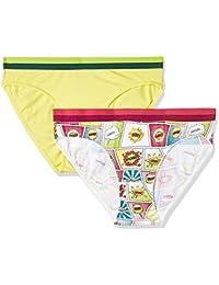 Zivame Women's Cotton Bikini   (Pack of 2)