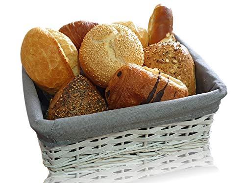 SG Produkte I Moderner Brotkorb für EIN gemütliches Frühstück I Brotkörbchen (Brotkorb groß)