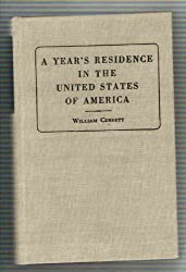 Year's Residence in the United States of America (America Through European Eyes)