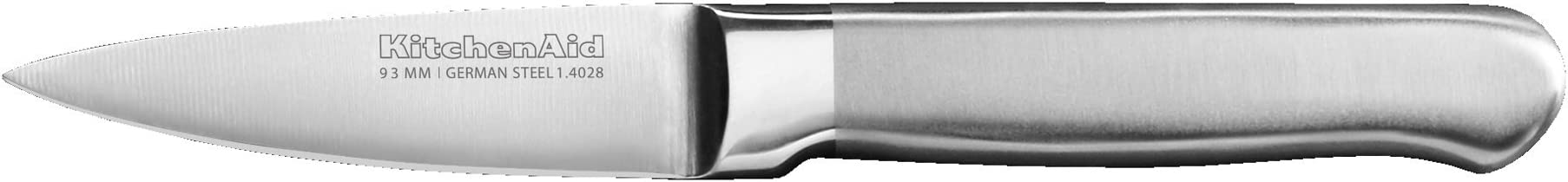 KitchenAid KKFSS3PRST Classic Forged Series Brushed Paring Knife, Stainless Steel, 3.5""