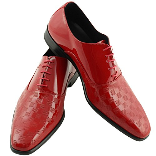 Pierre Cardin - Chaussure Pierre Cardin en cuir Jasper Rouge