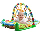Trendi® 3 in 1 Baby Piano Play Gym Play Mat - Music and Lights