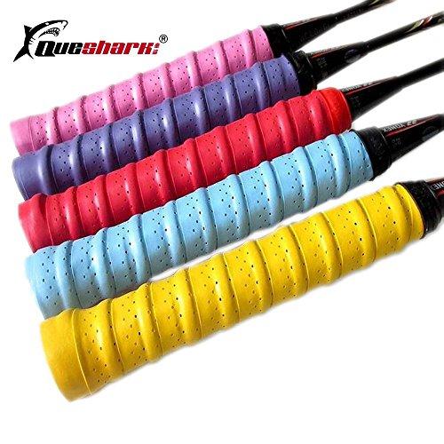 TYRO 1Pcs Griffbänder, für Tennisschläger rutschsicheren absorbieren Schweiß Tape Badminton Schläger Griff Angel Squash Schweißband Packungen