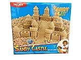 Sandy Clay - Juego de Moldear Arena - Castillo Arena Moldeable - 600 g - 10 Moldes - Actividad Creativa