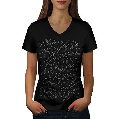 geeky-la-vie-style-geek-monde-femme-nouveau-noir-l-t-shirt-wellcoda