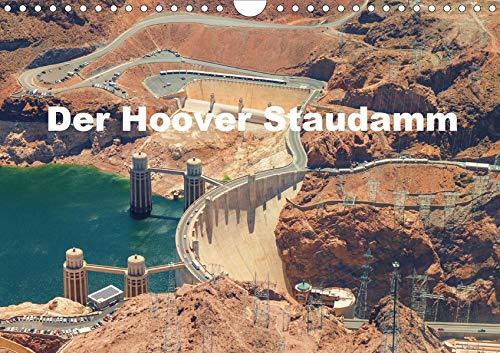 Der Hoover Staudamm (Wandkalender 2020 DIN A4 quer): Bildern der Staumauer in Nevada (Monatskalender, 14 Seiten ) (CALVENDO Orte)