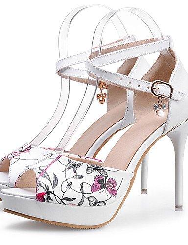 GS~LY Da donna-Tacchi-Formale / Serata e festa-Tacchi-A stiletto-Sintetico-Bianco white-us7.5 / eu38 / uk5.5 / cn38