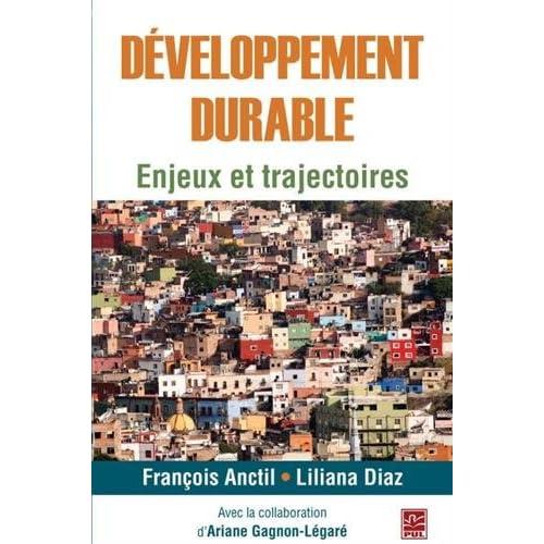 Développement durable : Enjeux et trajectoires