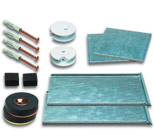 Spiegelbefestigung Magnetset SafemaX 16 für Spiegel bis 1.6 m² bei 6 mm Dicke