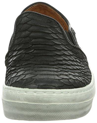 cashott  A12060, Baskets pour femme Noir - Schwarz (black 314)