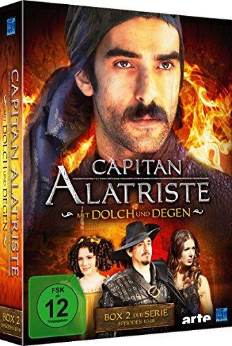 Capitan Alatriste - Mit Dolch und Degen - Box 2 (Folge 10-18) [3 DVDs]